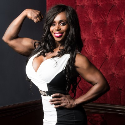 Dayana Cadeau Miss Olympia Body Builder for Talent Nation USA