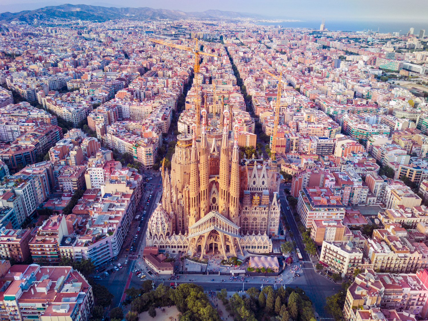 Barcelona, Spain - La Sagrada Familia - NYC Photographer ©Max Reed